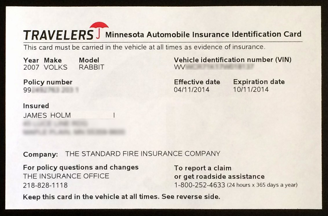 Car Insurance Card Template Unique Proof Auto Insurance Template Free