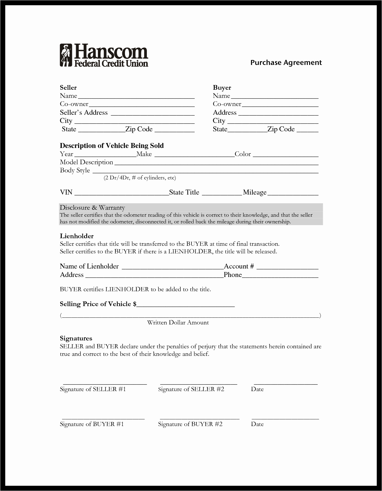 Car Purchase Agreement Template Luxury Auto Purchase Agreement Example Mughals