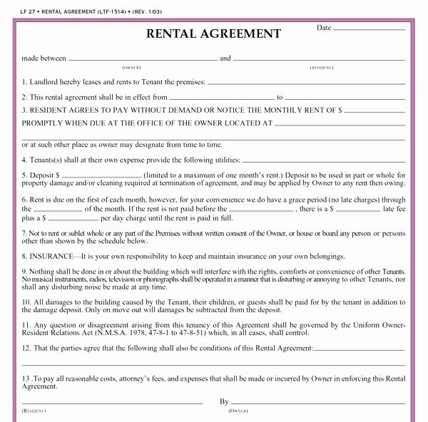 Car Rental Agreement Template Fresh House Lease Agreement Template Word Templates Rent Pdf