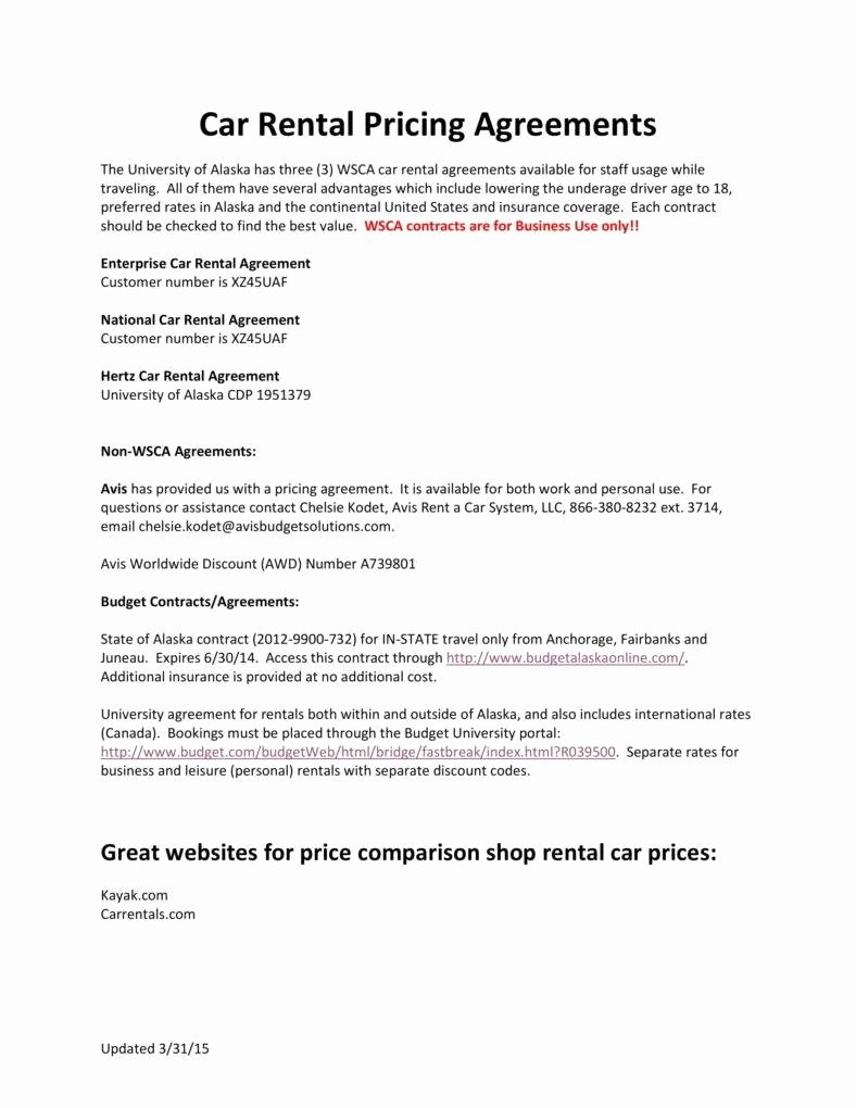 Car Rental Agreement Template Lovely 6 Personal Car Rental Agreement Templates Pdf