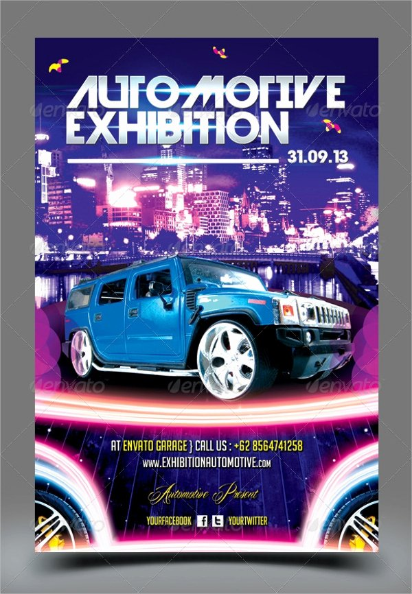 Car Show Flyer Template Awesome 21 Car Show Flyer Templates Psd In Design Ai