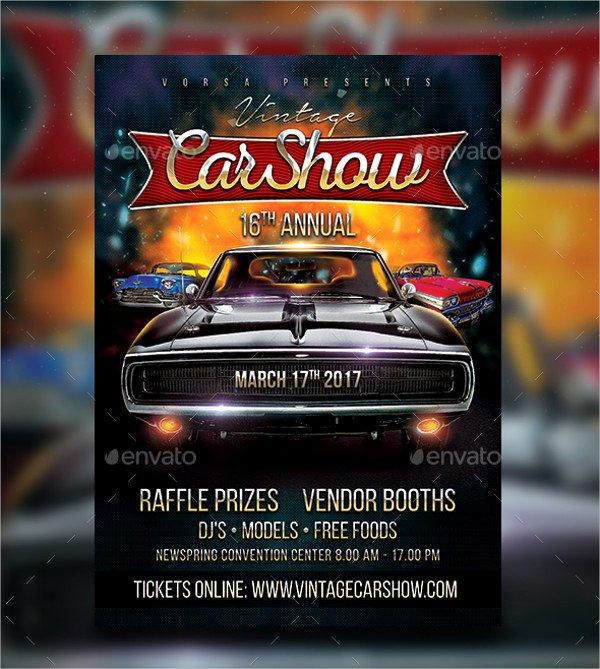 Car Show Flyer Template Beautiful 25 Car Show Flyer Templates Free & Premium Download