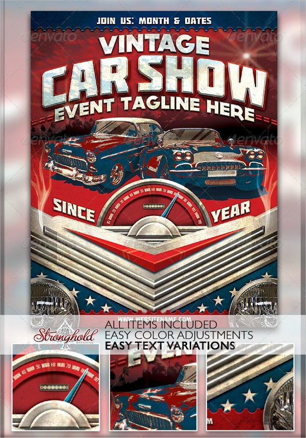 Car Show Flyer Template Best Of 21 Car Show Flyer Templates Psd In Design Ai