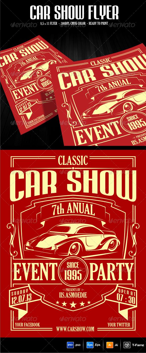 Car Show Flyer Template Best Of Car Show Flyer Template by T Famz