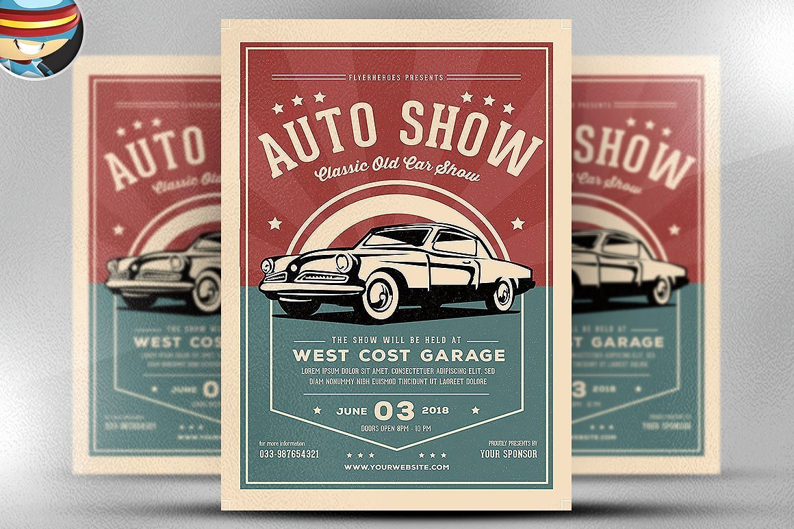 Car Show Flyer Template Best Of Old Classic Car Show Flyer Template Flyer Templates