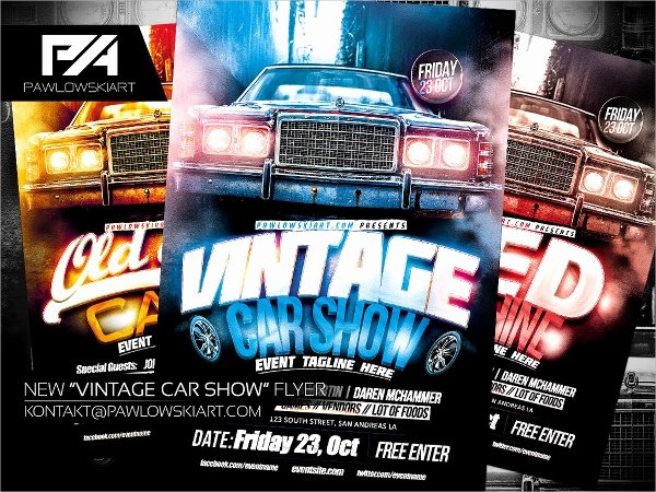 Car Show Flyer Template Elegant 21 Car Show Flyer Templates