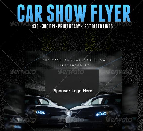 Car Show Flyer Template Fresh 5 Free Car Show Flyer Templates Excel Pdf formats