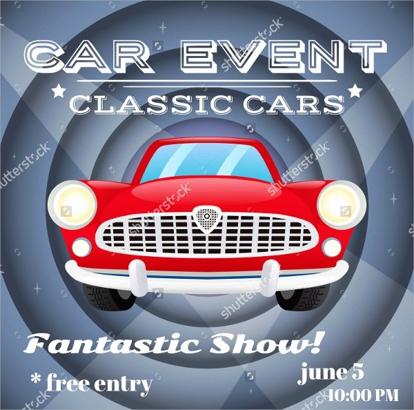 Car Show Flyer Template Luxury Car Show Flyer Template 20 Download In Vector Eps Psd