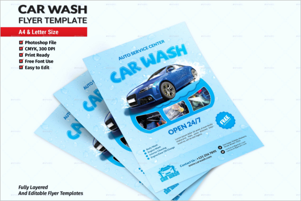 Car Wash Flyer Template Awesome Car Wash Flyer Templates Free Psd Design Ideas