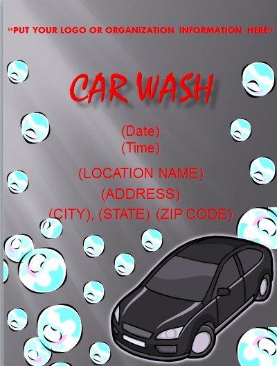Car Wash Flyer Template Elegant Flyer and Resume Templates
