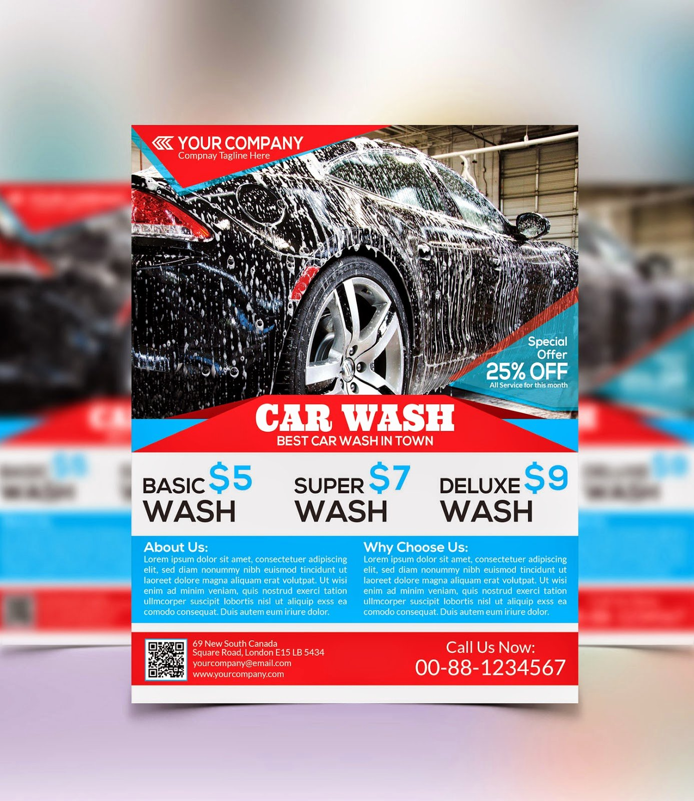 Car Wash Flyer Template Fresh Graphicwind Car Wash Flyer