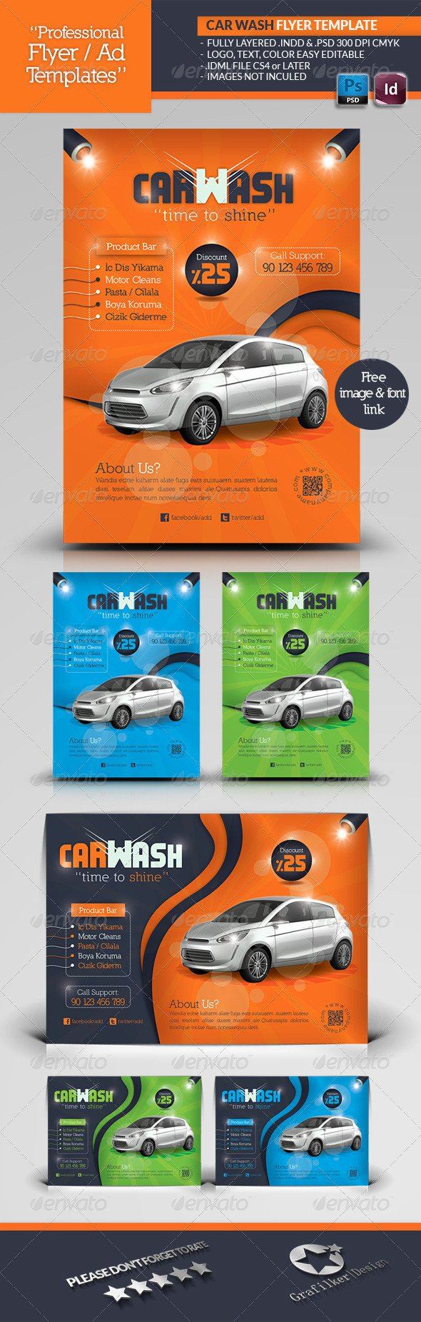 Car Wash Flyer Template Lovely Car Wash Flyer Template