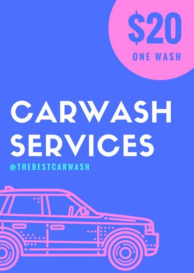 Car Wash Flyers Template Awesome Customize 77 Car Wash Flyer Templates Online Canva