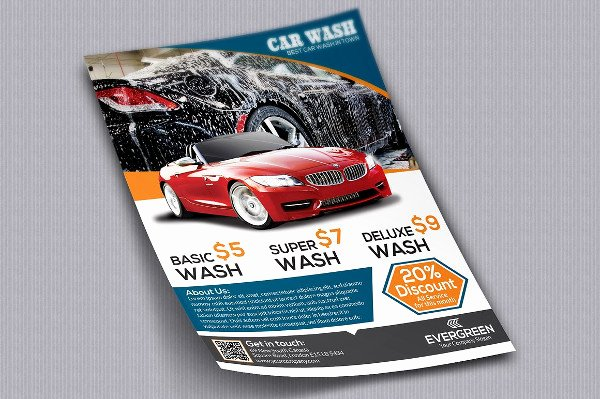 Car Wash Flyers Template Beautiful 22 Car Wash Flyer Templates Free & Premium Download