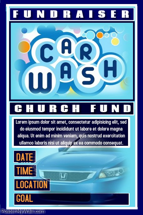 Car Wash Flyers Template Beautiful Postermywall