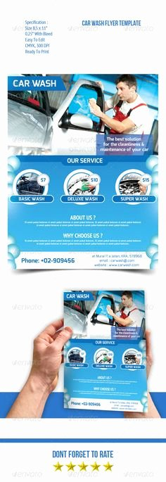 Car Wash Flyers Template Best Of 1000 Images About Catalogue Design On Pinterest