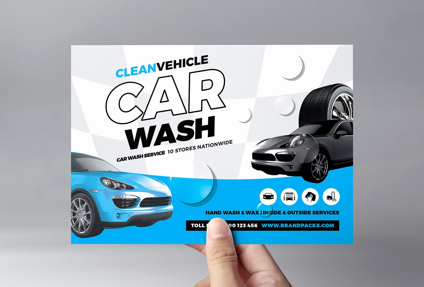 Car Wash Flyers Template Fresh Car Wash Flyer Template In Psd Ai & Vector Brandpacks