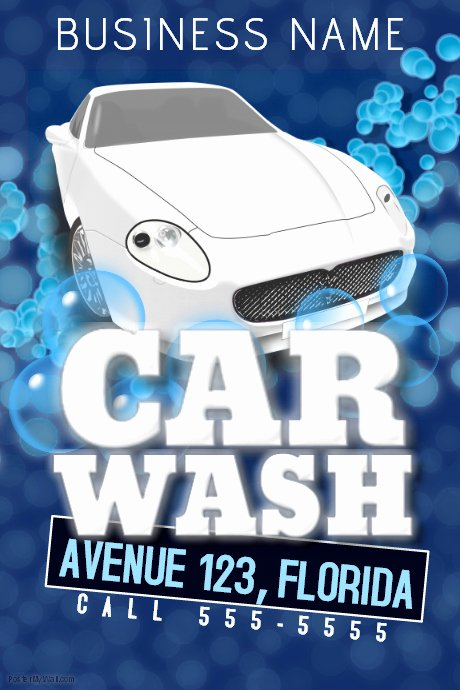 Car Wash Flyers Template Inspirational Car Wash Flyer Template
