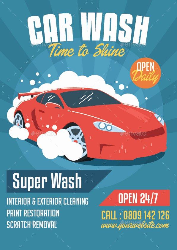 Car Wash Flyers Template New Car Wash Flyer by Bonezboyz