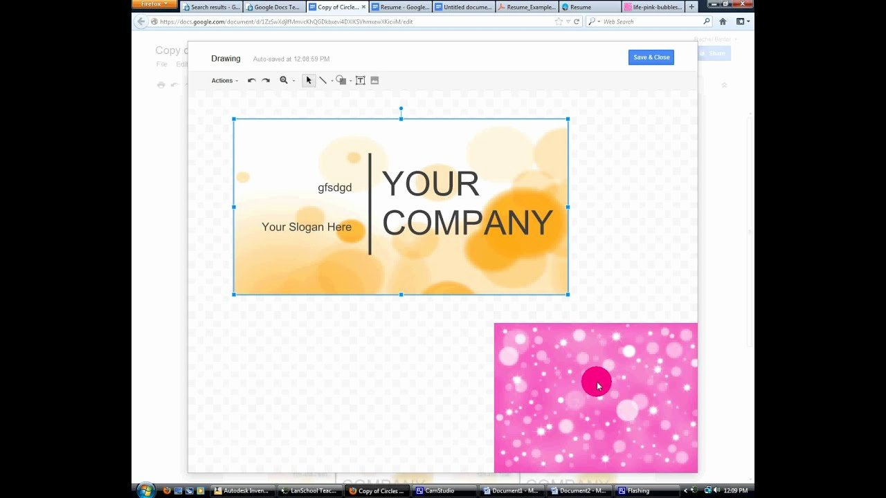 Card Template Google Docs Lovely How to Make Buisness Card In Google Docs or Ms Publisher