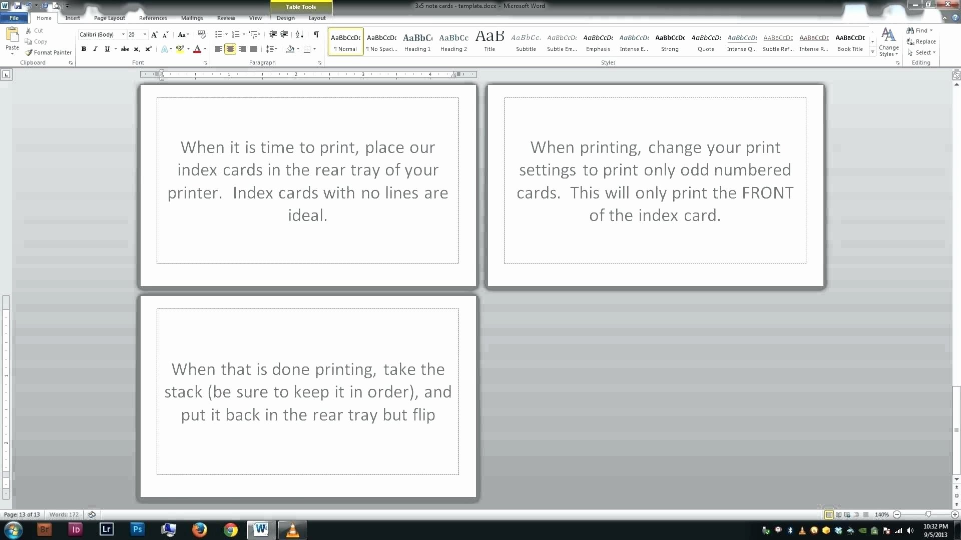 Card Template Google Docs New Google Docs Recipe Card Template