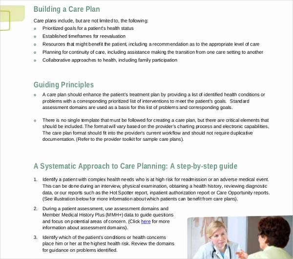Care Plan Template Pdf Fresh 15 Patient Care Plan Template – Pdf Word