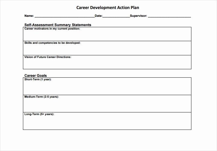 Career Action Plan Template Elegant the Essential Guide to Making A Business Plan