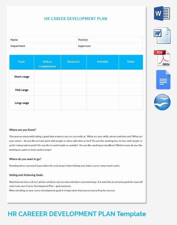 Career Development Plan Template Elegant Hr Strategy Template 39 Word Pdf Documents Download