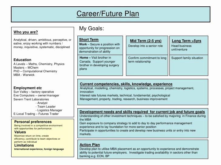 Career Development Plan Template Luxury Best 25 Personal Development Plan Template Ideas On