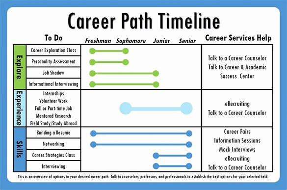 Career Path Planning Template Luxury 7 Career Timeline Templates Psd Pdf Ppt