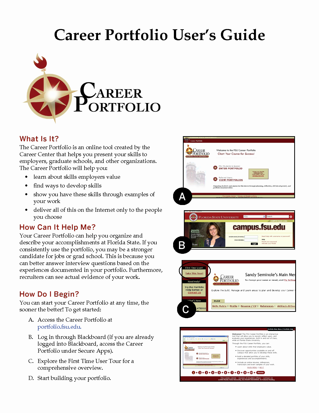 Career Portfolio Template Powerpoint Awesome Best S Of Sample Career Portfolio Powerpoint