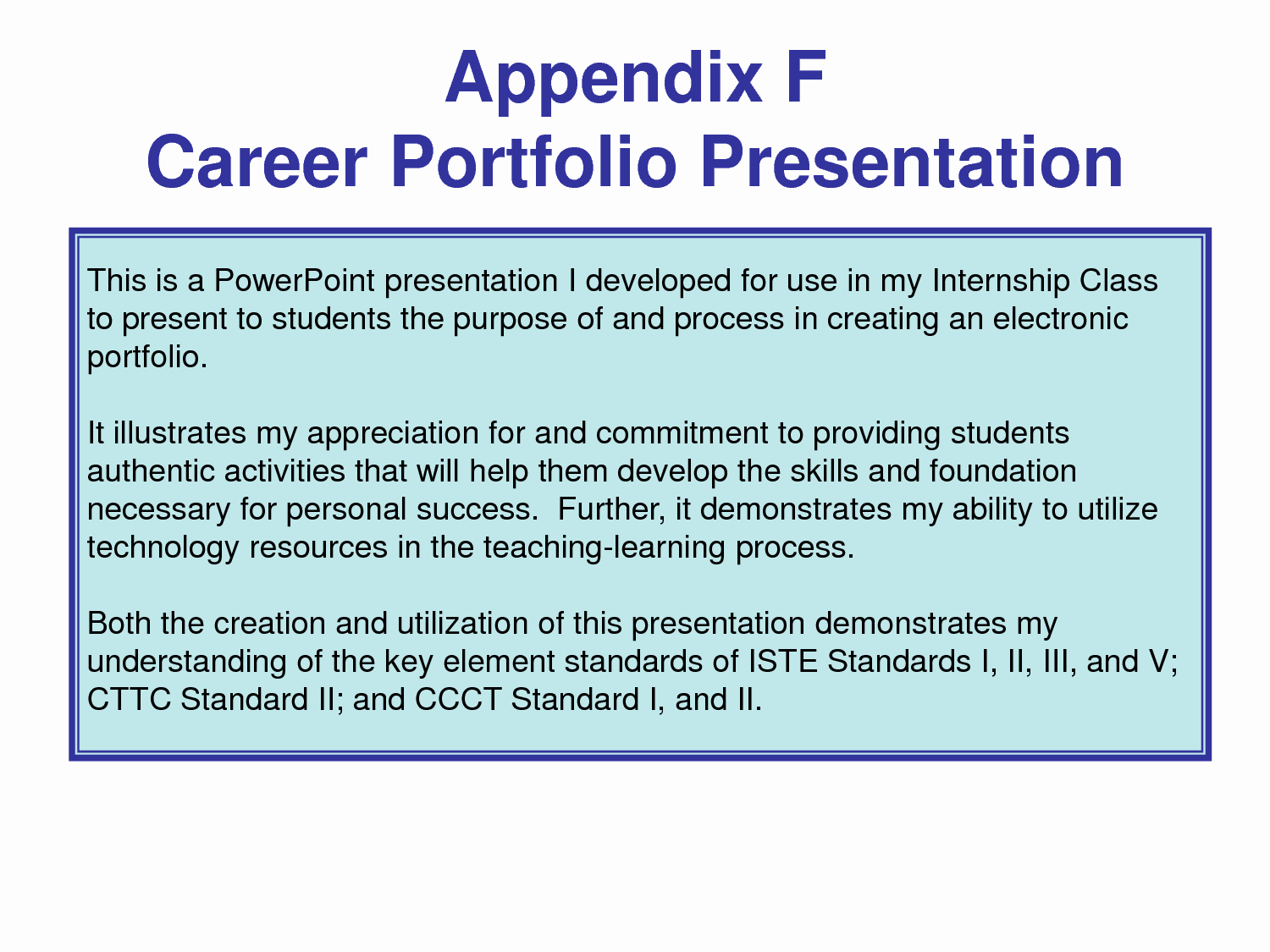 Career Portfolio Template Powerpoint Inspirational Best S Of Sample Career Portfolio Powerpoint