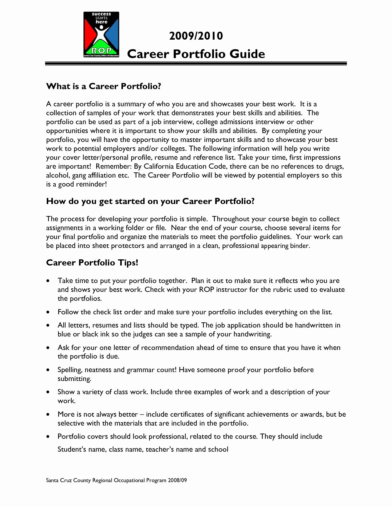 Career Portfolio Template Powerpoint Lovely Portfolio Disclaimer Sample Refrence 29 Employment