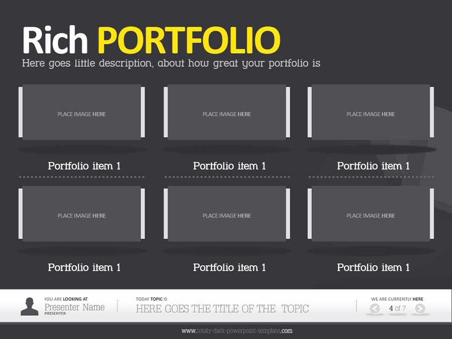 Career Portfolio Template Powerpoint Luxury Best S Of Teacher Portfolio Templates for Powerpoint