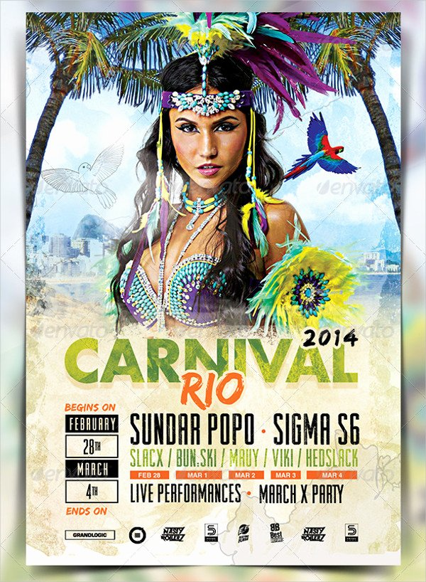 Carnival Flyer Template Free Best Of 23 Carnival Flyer Templates Free & Premium Download