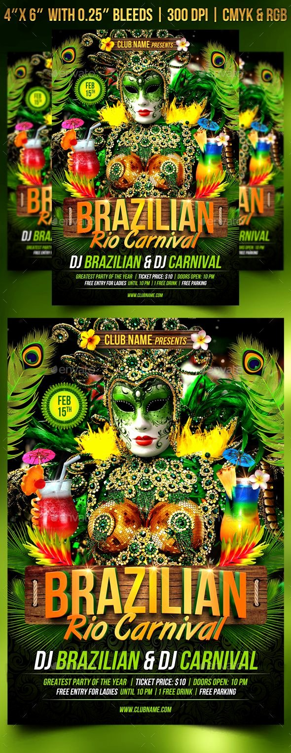 Carnival Flyer Template Free New Pin by Best Graphic Design On Flyer Templates