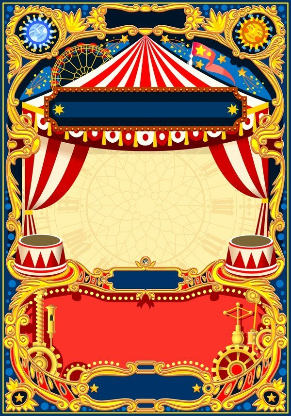 Carnival Flyer Template Free Unique Blank Carnival Flyer Template Free Download Printable