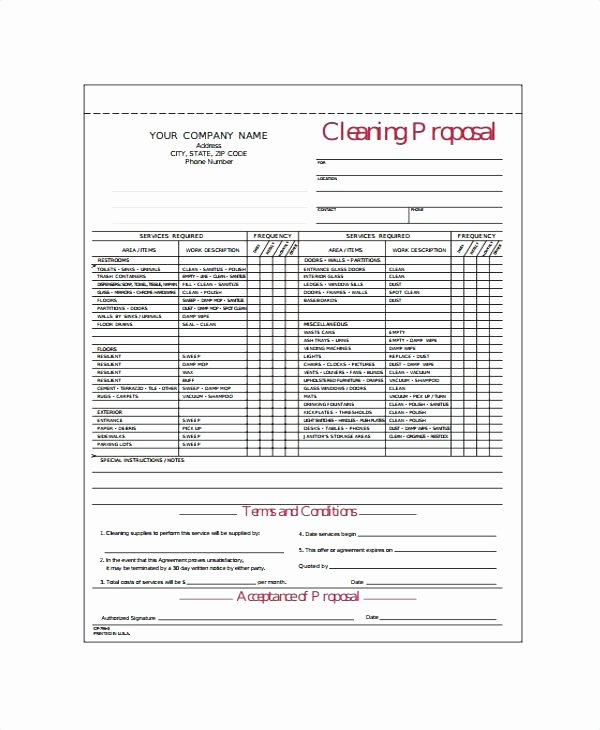 Carpet Cleaning Estimate Template New Free Carpet Cleaning Estimate Template
