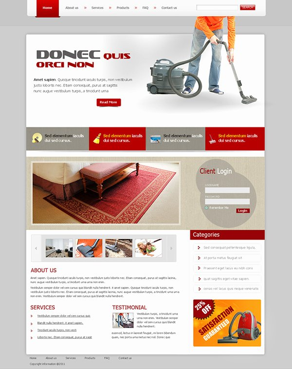 Carpet Cleaning Website Template Beautiful Carpet Cleaning Website Templates On Behance