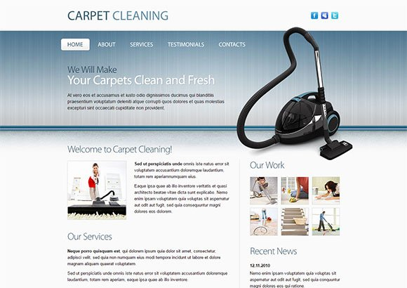 Carpet Cleaning Website Template Elegant Carpet Cleaning Website Template Popteenus
