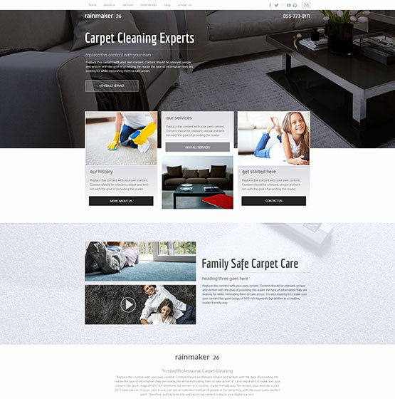 Carpet Cleaning Website Template Inspirational Carpet Cleaning Website Templates Mobile Responsive