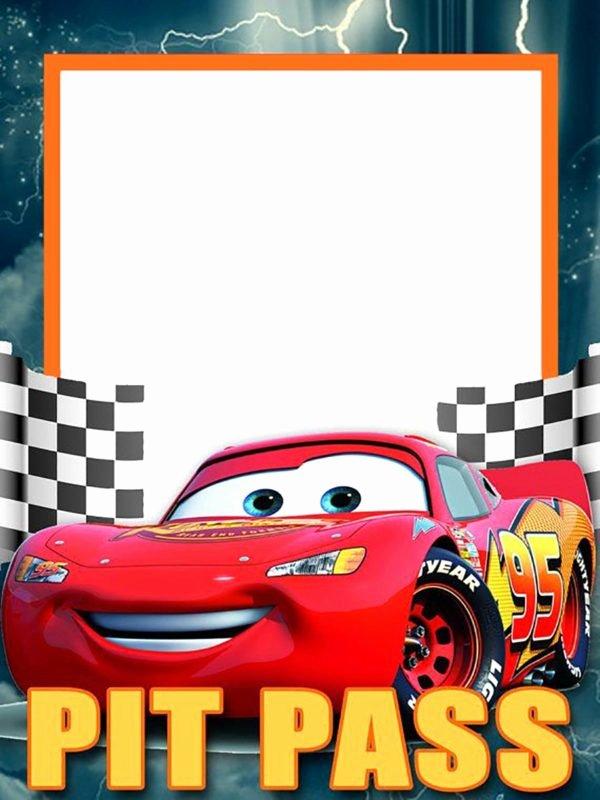 Cars Birthday Invitation Template Beautiful Lightning Mcqueen Invitation Template Free