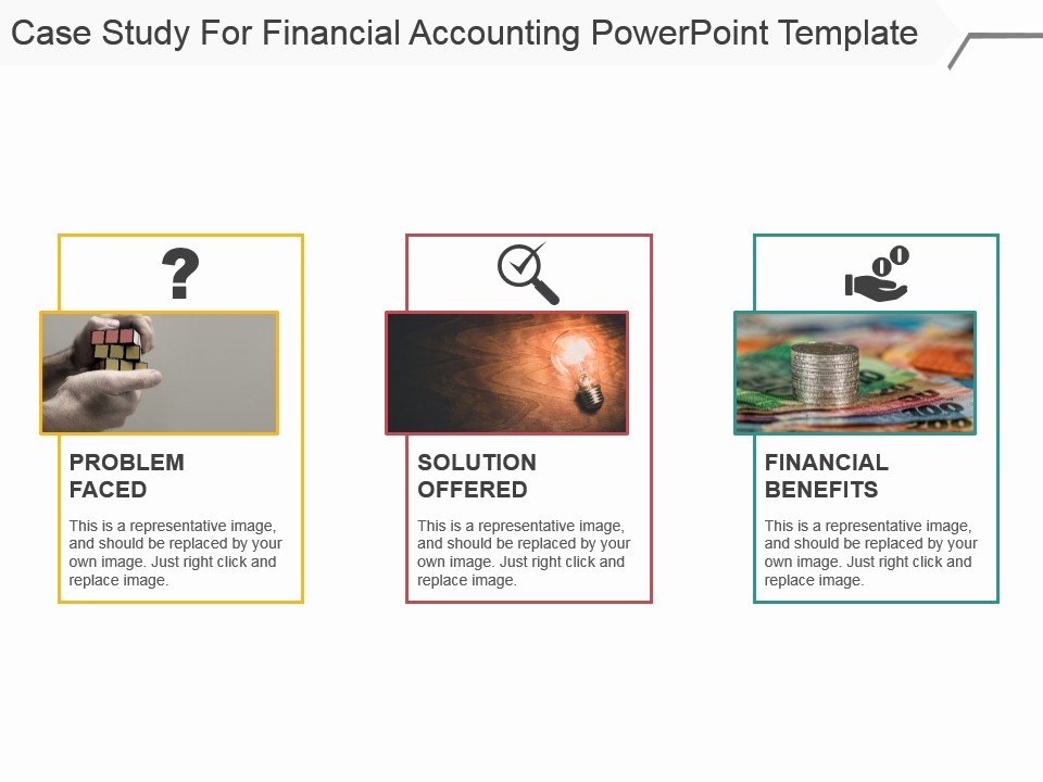 Case Study Presentation Template Beautiful Case Study for Financial Accounting Powerpoint Template