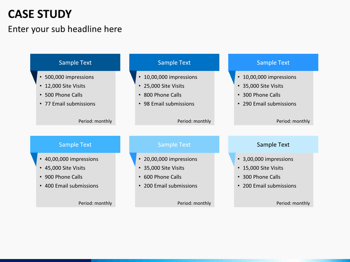 Case Study Presentation Template Beautiful Case Study Powerpoint Template