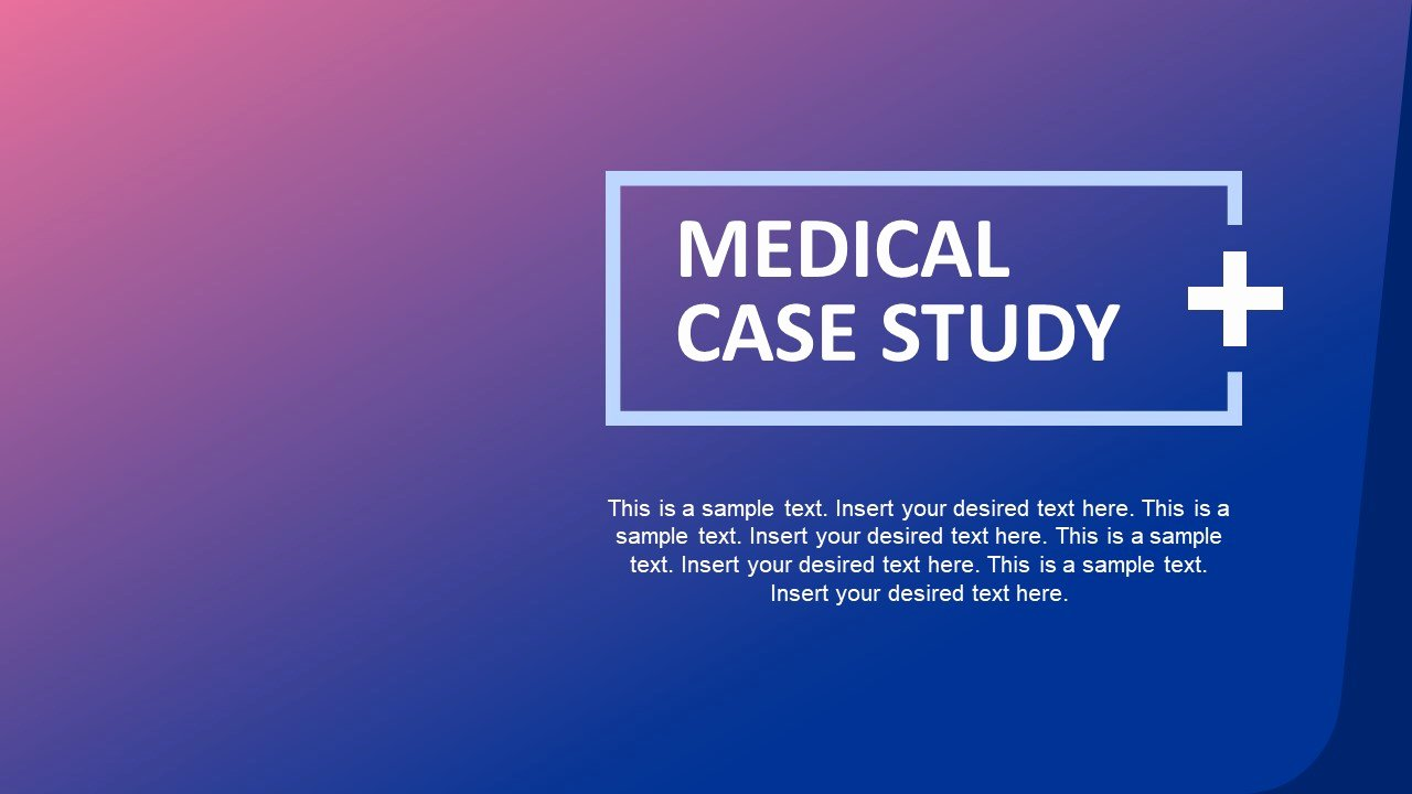 Case Study Presentation Template Elegant Medical Case Study Powerpoint Template Slidemodel