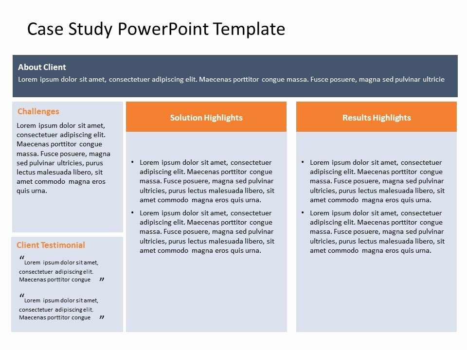 Case Study Presentation Template Lovely Case Study Powerpoint Template 25 Slideuplift