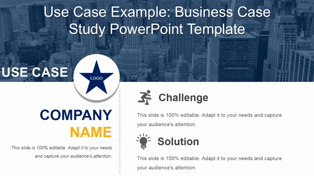Case Study Presentation Template Luxury 11 Professional Use Case Powerpoint Templates to Highlight