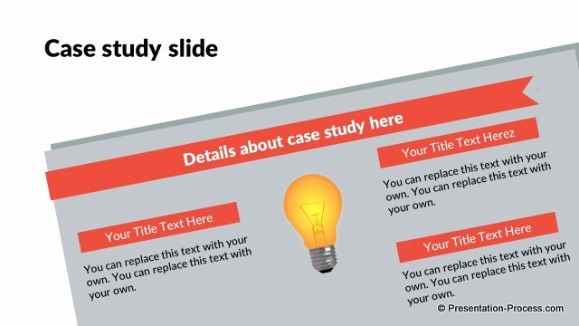 Case Study Template Ppt Awesome Flat Design Templates Powerpoint Closing Slides