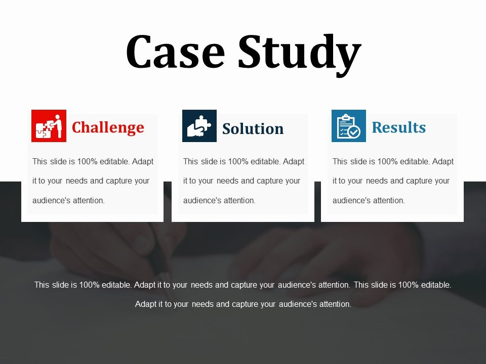 Case Study Template Ppt Best Of Case Study Powerpoint Slide themes
