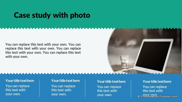 Case Study Template Ppt Best Of Flat Design Templates Powerpoint Closing Slides